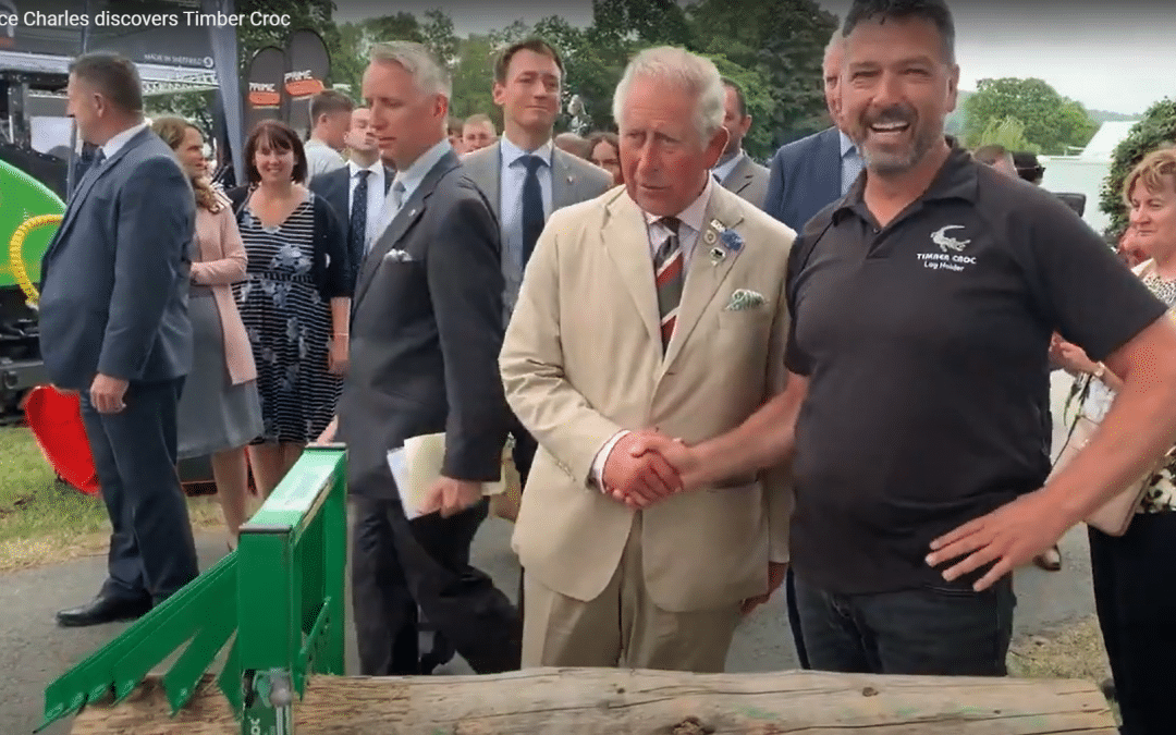 When Prince Charles meets Timber Croc…